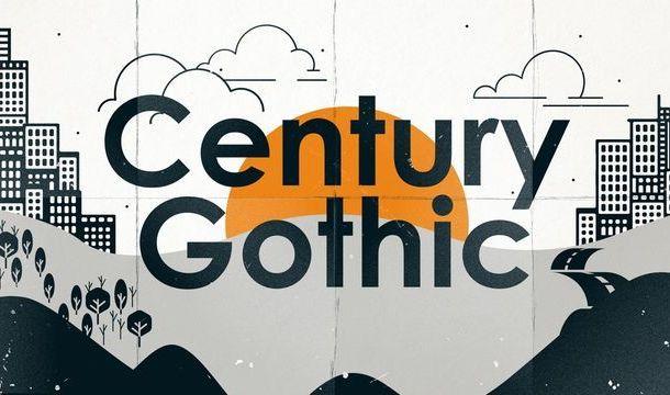 Century Gothic Font Free
