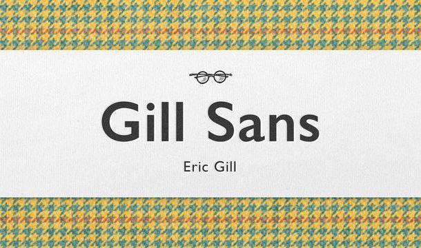 Gill Sans Font Free