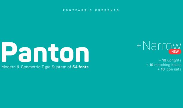 Panton Font Free