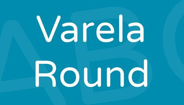 Varela Round Font Family Free
