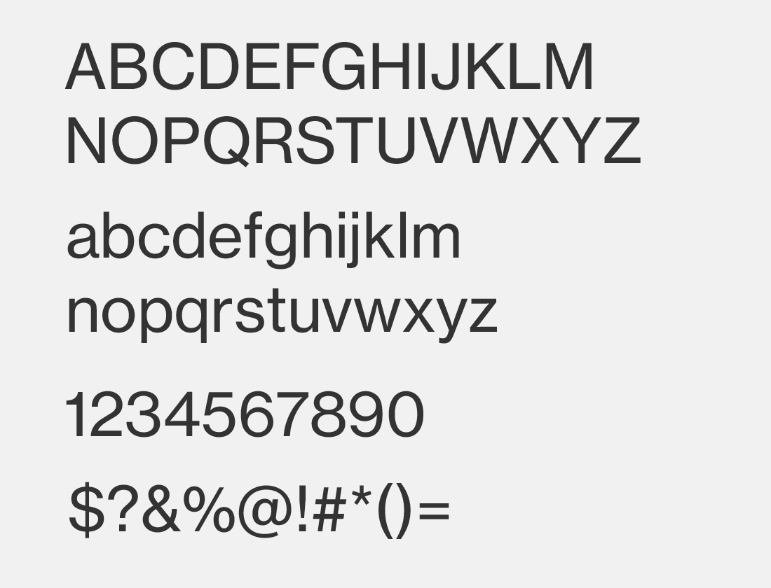 neue haas grotesk text font