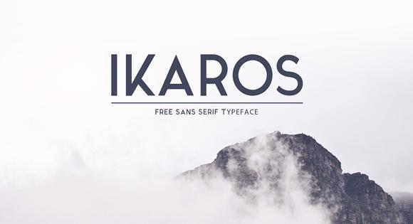Ikaros Font Free