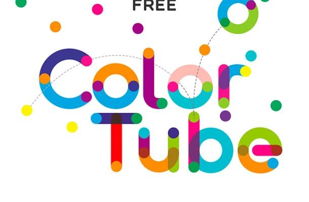 ColorTube Font Free