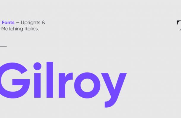 Gilroy Font Free