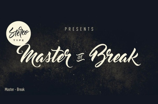 Master of Break Font Family