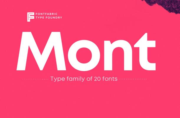 mont-font-family