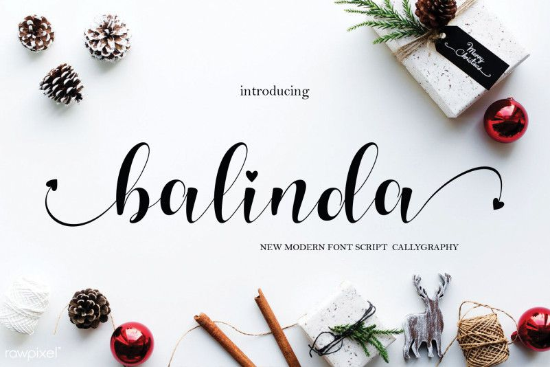 Balinda Calligraphy Font-1