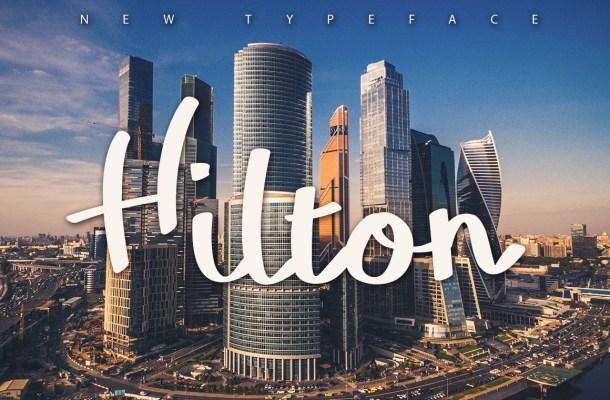 free-hilton-typeface