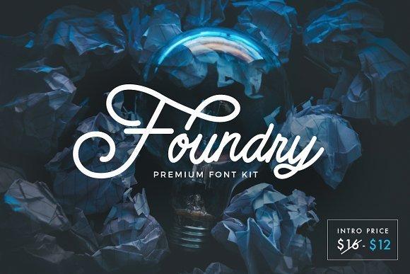 Foundry Font Kit