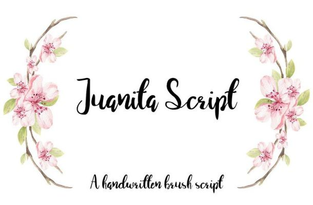 Juanita Script Font