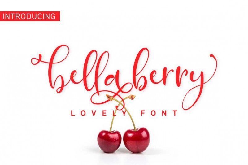 bellaberry-script-font-1