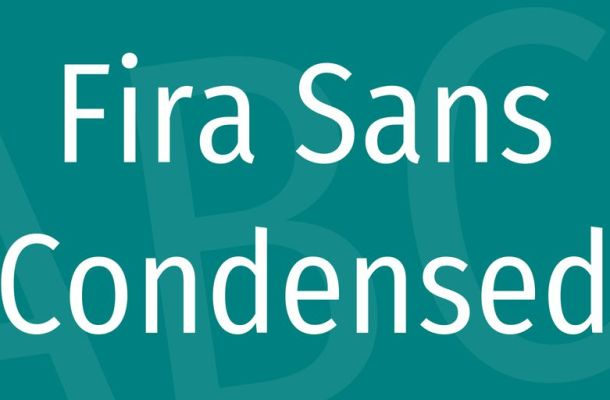 Fira Sans Condensed Font Family