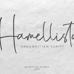 Hamellista Font