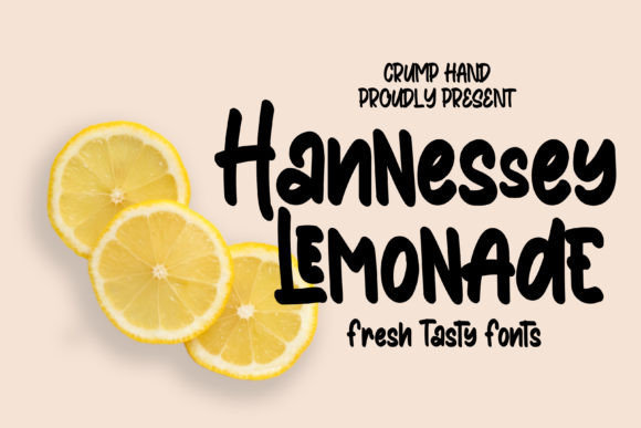 hannessy-lemonade-display-font