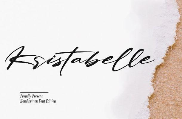 Kristabelle Script Font
