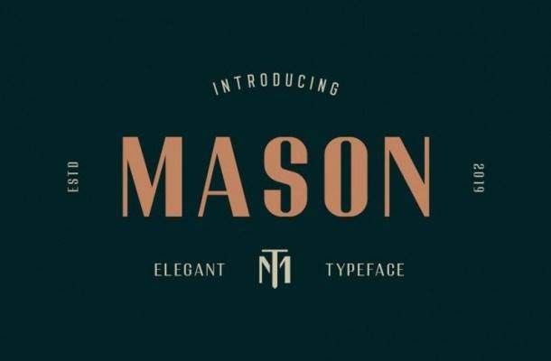 Mason Sans Serif Font