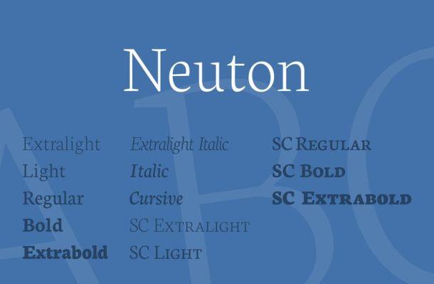 Neuton Font Family