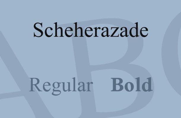 Scheherazade Font Family