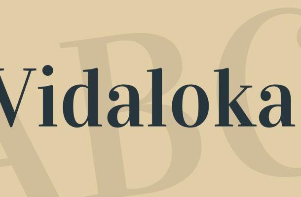 Vidaloka Font