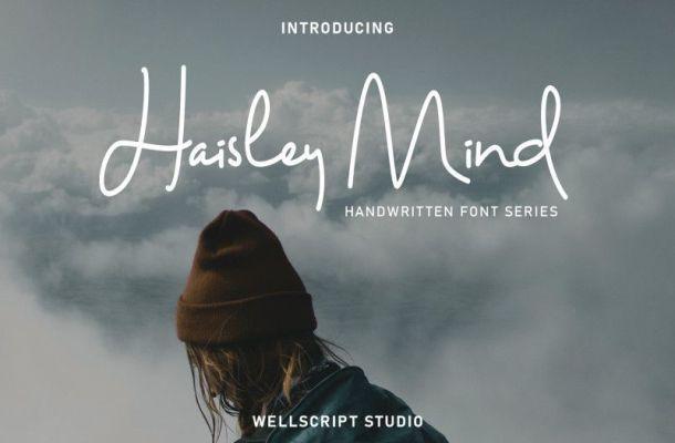 Haisley Mind Handwritten Script Font