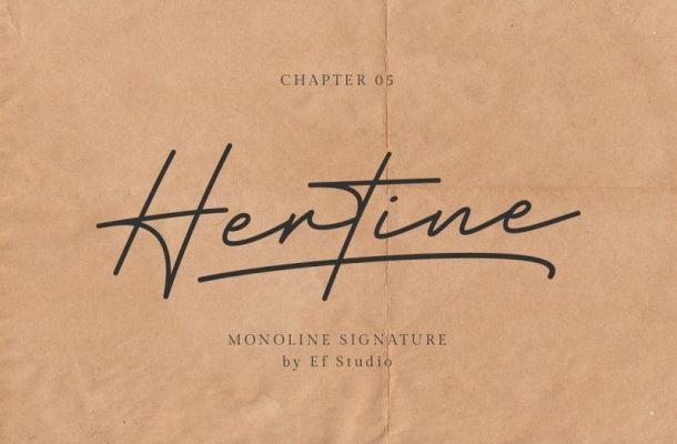 Hertine Font