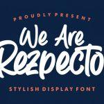 Rezpector Font