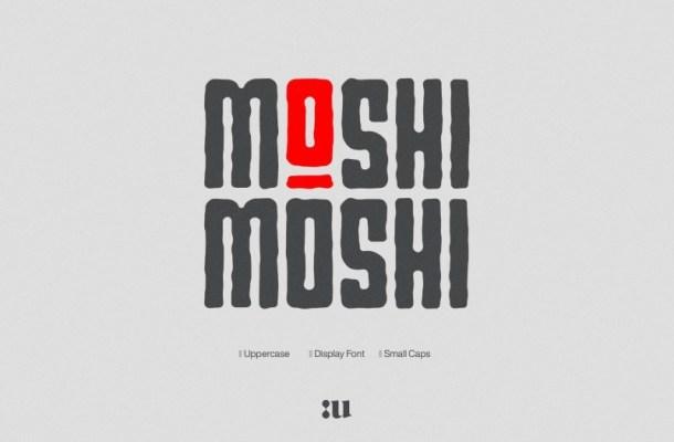 Small-Moshi-Moshi-Font