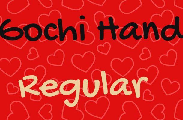 Gochi Hand Font