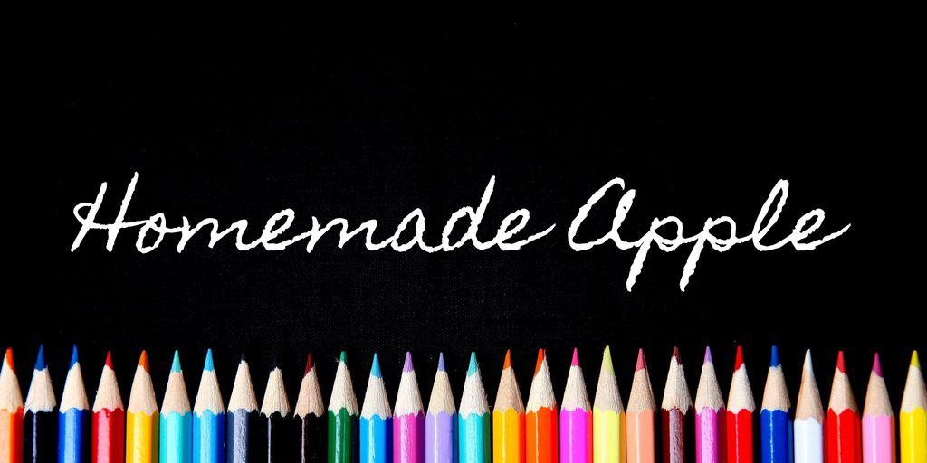 homemade-apple-font