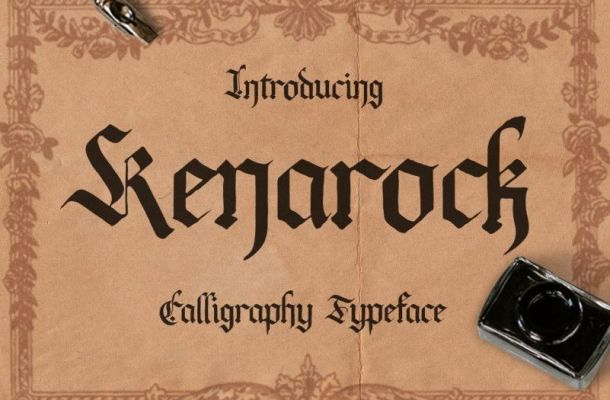 Kenarock Font