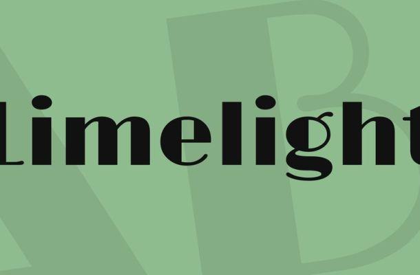 Limelight Font