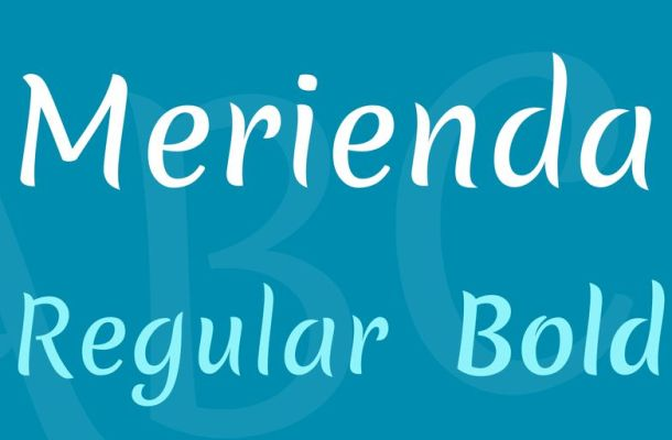 Merienda Font Family
