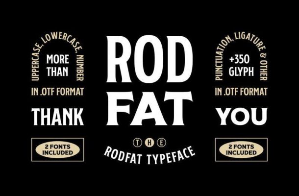 Rodfat Display Font