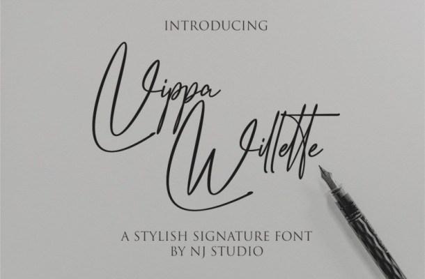 Vippa Willette Font