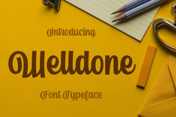 Welldone Font