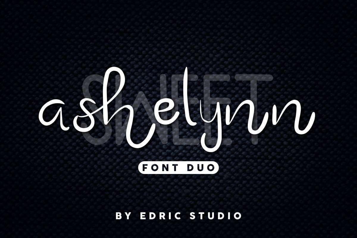 Ashelynn-Sweet-Font-Duo