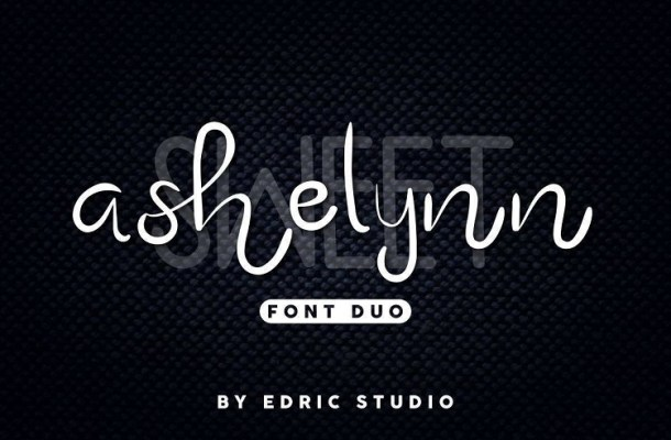 Ashelynn Sweet Font Duo
