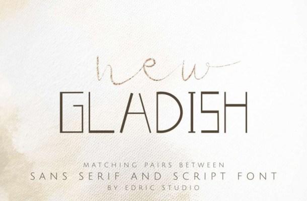New Gladish Font
