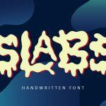 Slabs Fun Display Font
