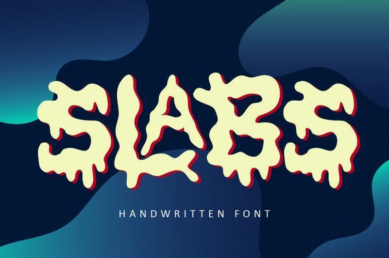 Slabs-Fun-Display-Font