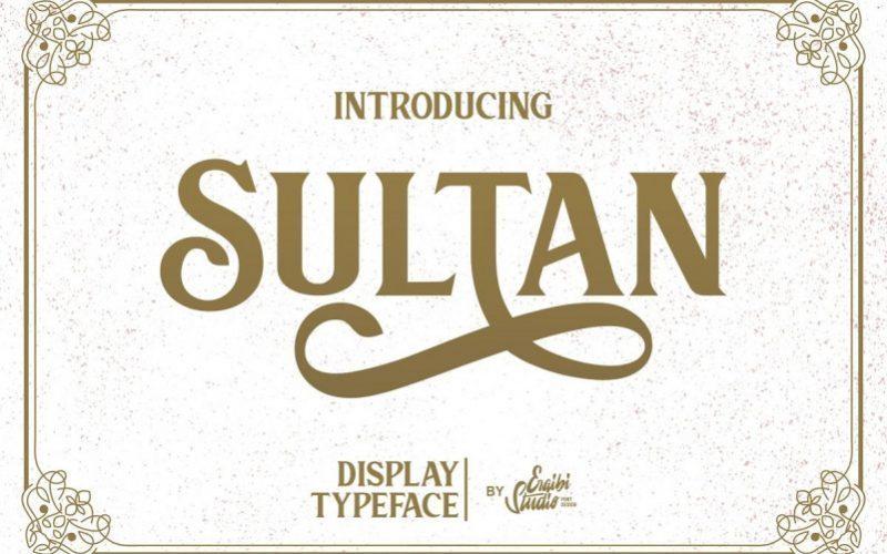 Sultan-Serif-Font