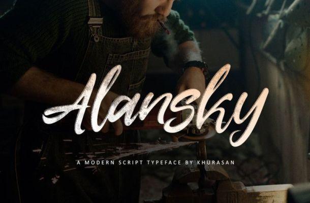 Alansky Font