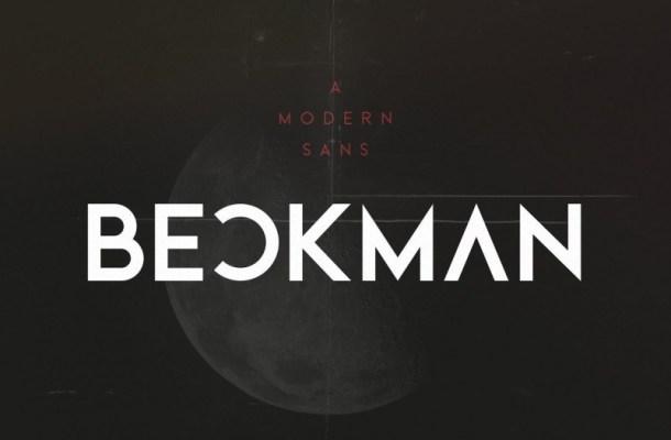 Beckman Sans Font Family