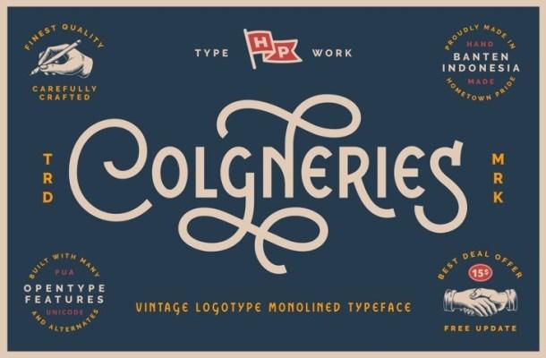 Colgneries Font