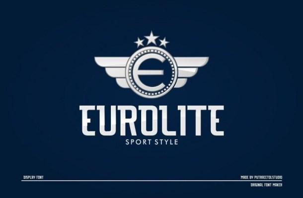 Eurolite Sport Font