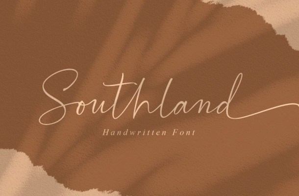 Southland Handwritten Font