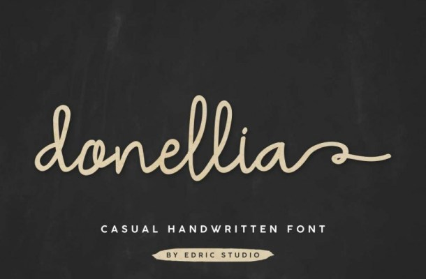 Donellia Casual Handwriting Font