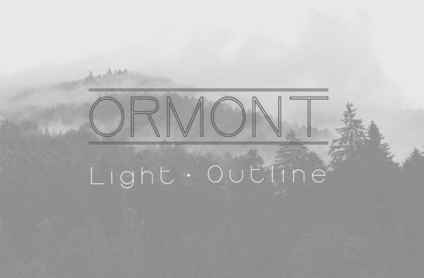 Ormont Sans Font