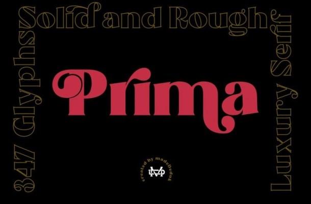 Prima Luxury Typeface