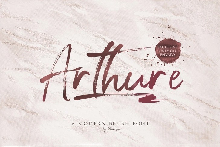 arthure-font